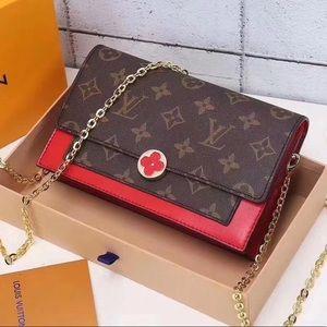 Louis Vuitton flore red